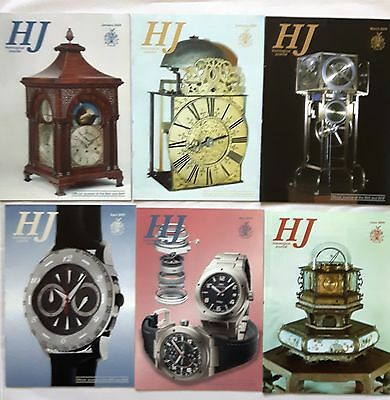 HOROLOGICAL JOURNAL MAGAZINES -  2005 - Twelve copies - Jan to Dec.
