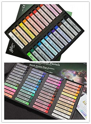 PRO Artists' Soft Pastels 24/48 Colours Set  Free shipping