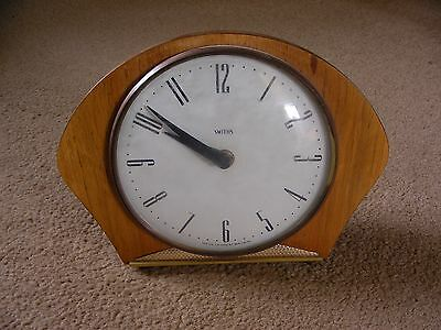 "Vintage Smiths ""Snowflake"" Mantle Clock"