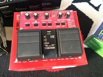 Boss rc20xl loop station effetto a pedale per chitarra