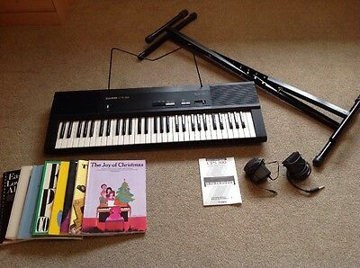 Casio Cps-300 Electronic Keyboard With Stand/extras