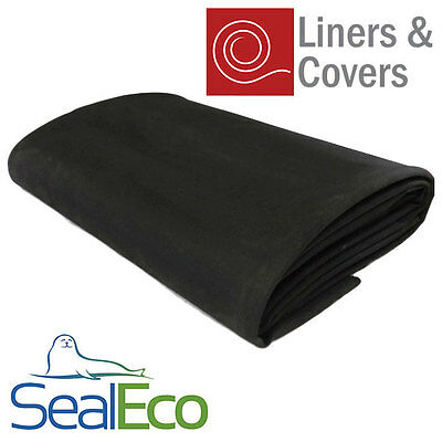 SealEco EPDM Rubber Pond Liner | Thick, Heavy Duty | Multiple Sizes