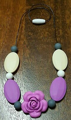 Silicon Necklace and matching Teether