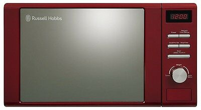 Russell Hobbs RHM2064R Digital Solo Microwave 20 Litre 800W Red