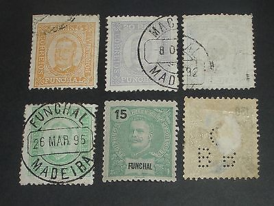 Portugal colonies stamps mint & used one perfin (i do combine p&p) U