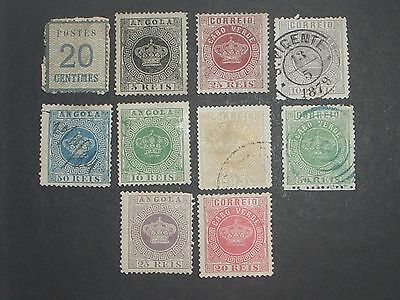 Portugal colonies stamps mint & used (i do combine p&p) W