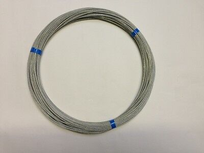 100 MTRS Of  Poly Coated Flex Weave  Antenna/ Aerial Wire Ham Amateur Radio Use