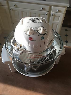 10 Litre Halogen Convection Oven Cooker + Extender Ring And 2 Cook Books