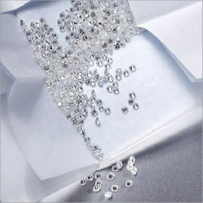 100% Real Natural Round Brilliant Cut 0.60TCW loose Diamonds lot SI-3/F-G Color