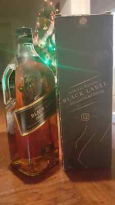 VERY RARE 1.75 litre size Johnnie Walker Black Label in Box  *No Reserve* New