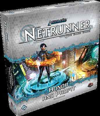 Android Netrunner LCG: Honor & Profit (Expansión deluxe)(Inglés)