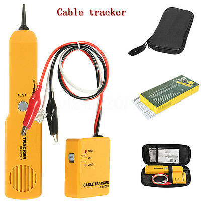 Telephone Line Finder RJ11 Wire Tracker Network Cable Circuit Tester Detector