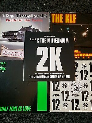 The KLF/Timelords/JAM'S Job Lot x 5 RARE Vinyls..