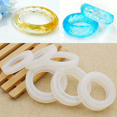 1 Pc Bracelet Soft Silicone Mould Round Creative Bangle Craft Accessories New