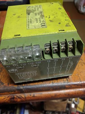 PILZ  PNOZ 1 110VAC 3S/1O Safety relay. 475630. Used