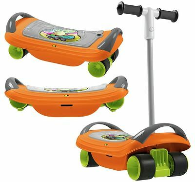 New Elegant Chicco Fit N Fun 3-in-1 Balanskate transformend into a scooter