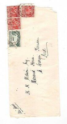 Australia 1930 7 1/2d Airmail Cover to Perth WA ,cds CARNARVON WA