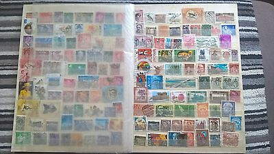 Mixed world stamps all different lot2