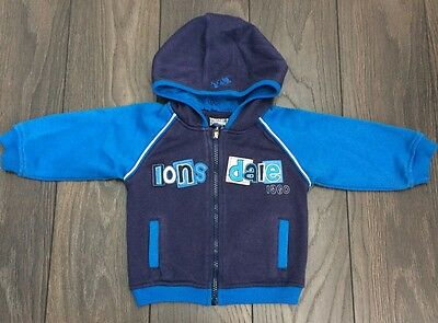 Baby Boys Lonsdale Hoody Age 12 - 18 Months