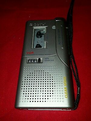 Sony M-530V Dictaphone Mini Cassette Voice Recorder