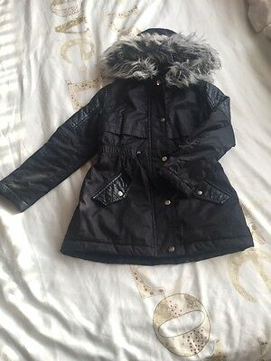 Girls Coat Age 8-9 Years Lovely Condition