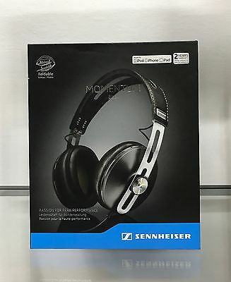 Sennheiser MOMENTUM 2.0 OVER EAR BLACK iPhone -  Ex Demo. Garanzia 24 mesi.