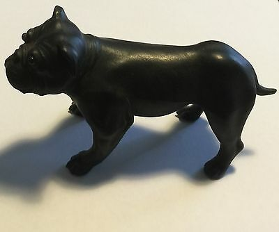 Rare Wedgwood Black Basalt French Bulldog