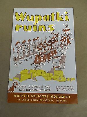1950s Booklet Wupatki Ruins National Monument
