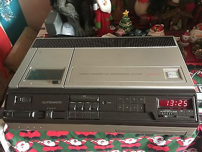 RARE PHILIPS N1702 VCR FULLY RESTORED PERFECT WORKING ORDER with VIDEO OUTPUT