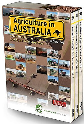 Agriculture in Australia Volumes 1 - 3 DVD