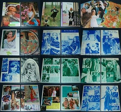 (25) Lot JUDI BOWKER 1970s/80s Vintage JPN/JAPAN PICTURE CLIPPINGS #6P1