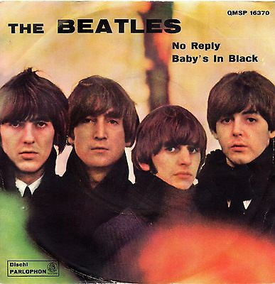 The Beatles-No Reply/Baby's In Black 45 giri Italian Issue Green Label