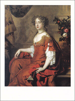 Postcard - Queen Mary II - Royals Royalty - 17th century Photo Portrait