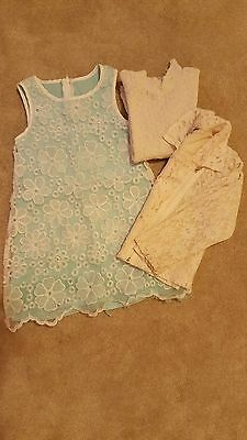 Girls lace lot, Pretty Dress, Top and Jacket, 3-4 Y