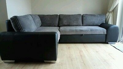 Enzo Corner sofa bed with storage