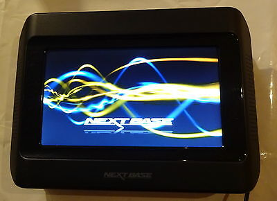 Nextbase Click 7 lite Duo tragbarer DVD-Player (7 Zoll) Display