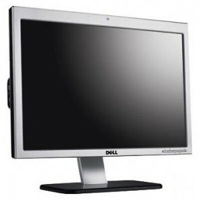 """Nice Dell SP2008WFP 20""""  Widescreen LCD Monitor With Free Cables & Fast Dispatch"""