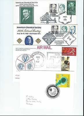 100+ stamp covers chemistry and physics