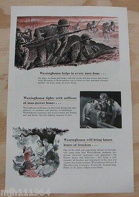1940's Westinghouse WWII advertisement