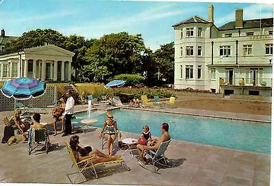 Imperial Hotel - Exmouth - Swimming Pool - Postcard 1968