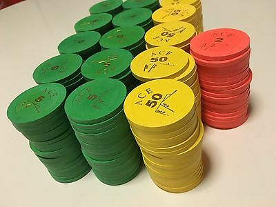 320 original PAULSON Pokerchips !!! Tophat and cane-Mold !!! TOP !!!