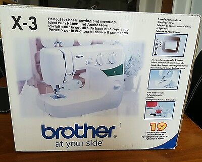 X-3 brother sewing machine