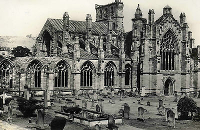 MELROSE ABBEY from the S.W.