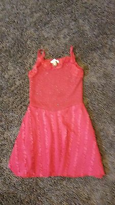 Pre-owned girl's size small High School Musical Red Dress Halloween Costume