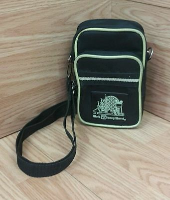 Walt Disney World Green & Black Camera Shoulder Carrying Bag / Pouch Only *READ*