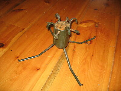 Antique Iron Green Christmas Tree Stand