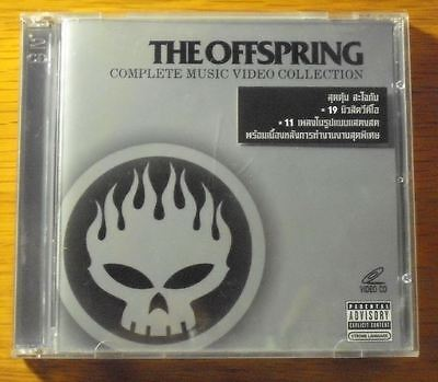 The Offspring Complete Music Video Collection Thai Promo 2 VCD Video CD OOP RARE