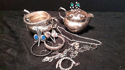 1 Pound of Vintage Sterling Silver 925  SOME WITH STONES ONE POUND 16 Oz