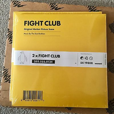 The Dust Brothers - Fight Club OST 2xLP 2016 reissue