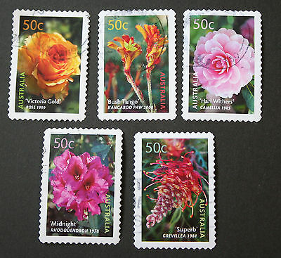 AUSTRALIA - 2003 HORTICULTURE s/a set fine used